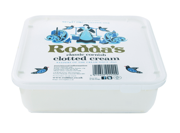 roddas 907g portion cream