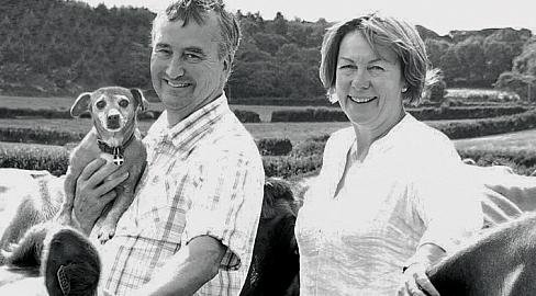 Farming families farmers cornwall