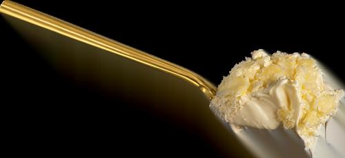 spoonful of cream