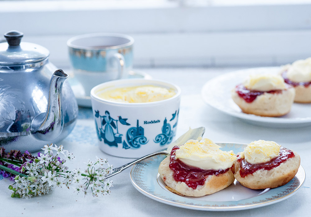 cream tea afternoon