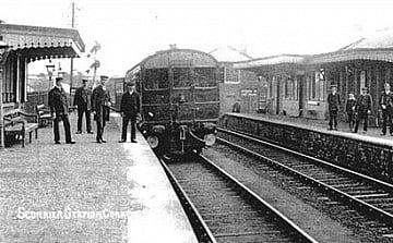 train leaving for London