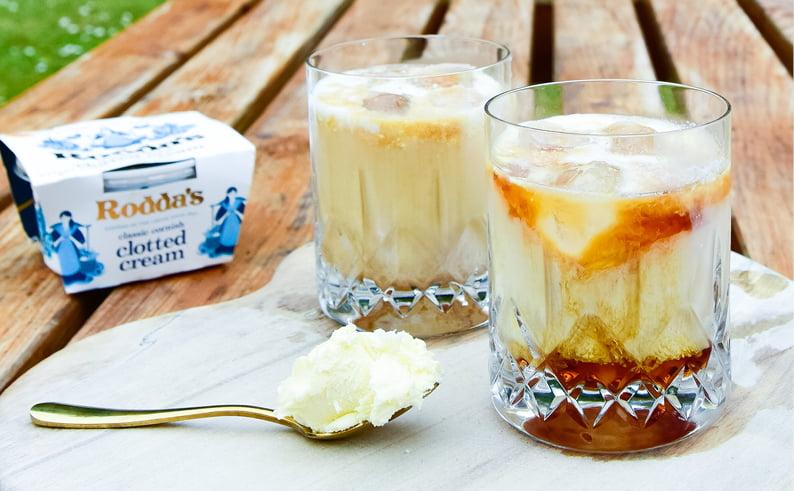 clotted cream cocktails
