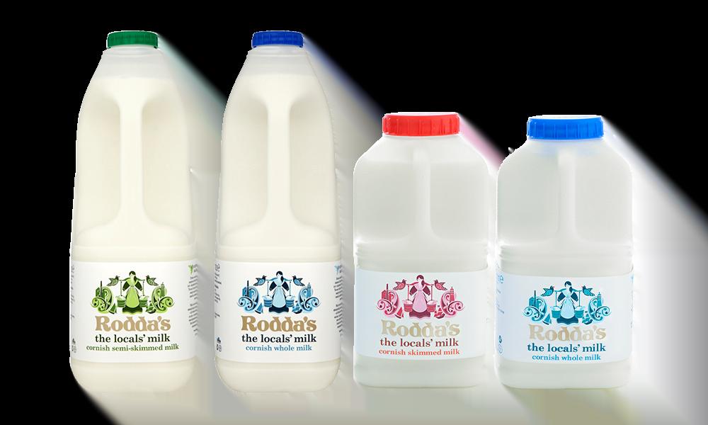roddas milk local cornish