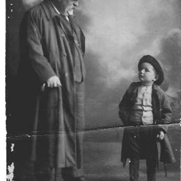 Greatgrandfather and Willie Rodda