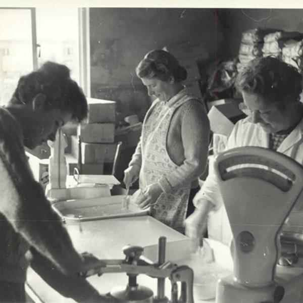 Packing cartons 1961