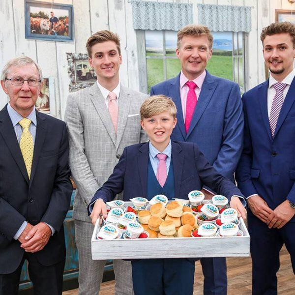 Three generations Rodda Royal Cornwall Show 2018